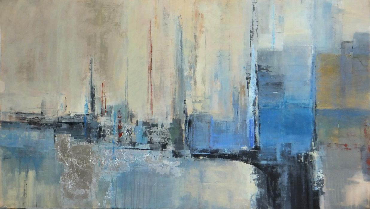 Abstract cityscape 1 - SOLD
