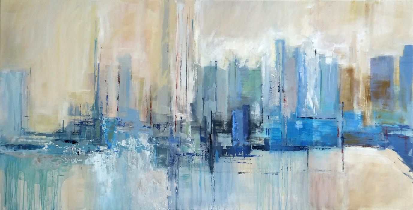Abstract cityscape 2 - SOLD