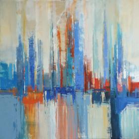 Abstract cityscape 4 - SOLD