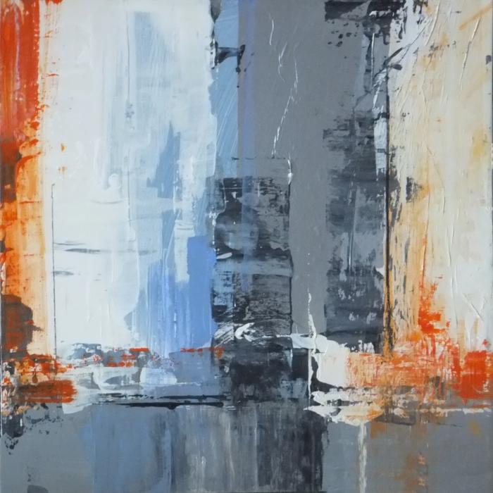 Cityscape triptych 2 - SOLD